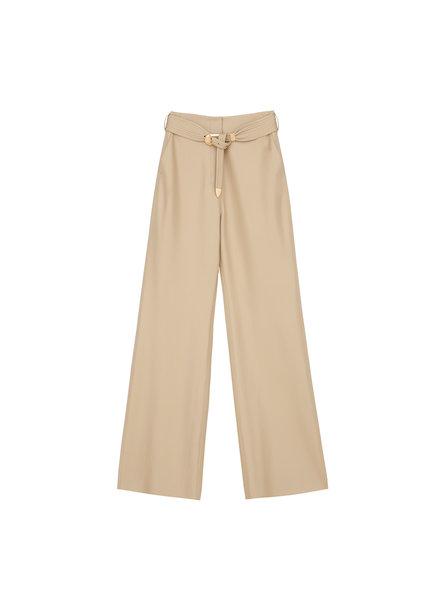 Nanushka Kisa pants - Wax Yellow - size L