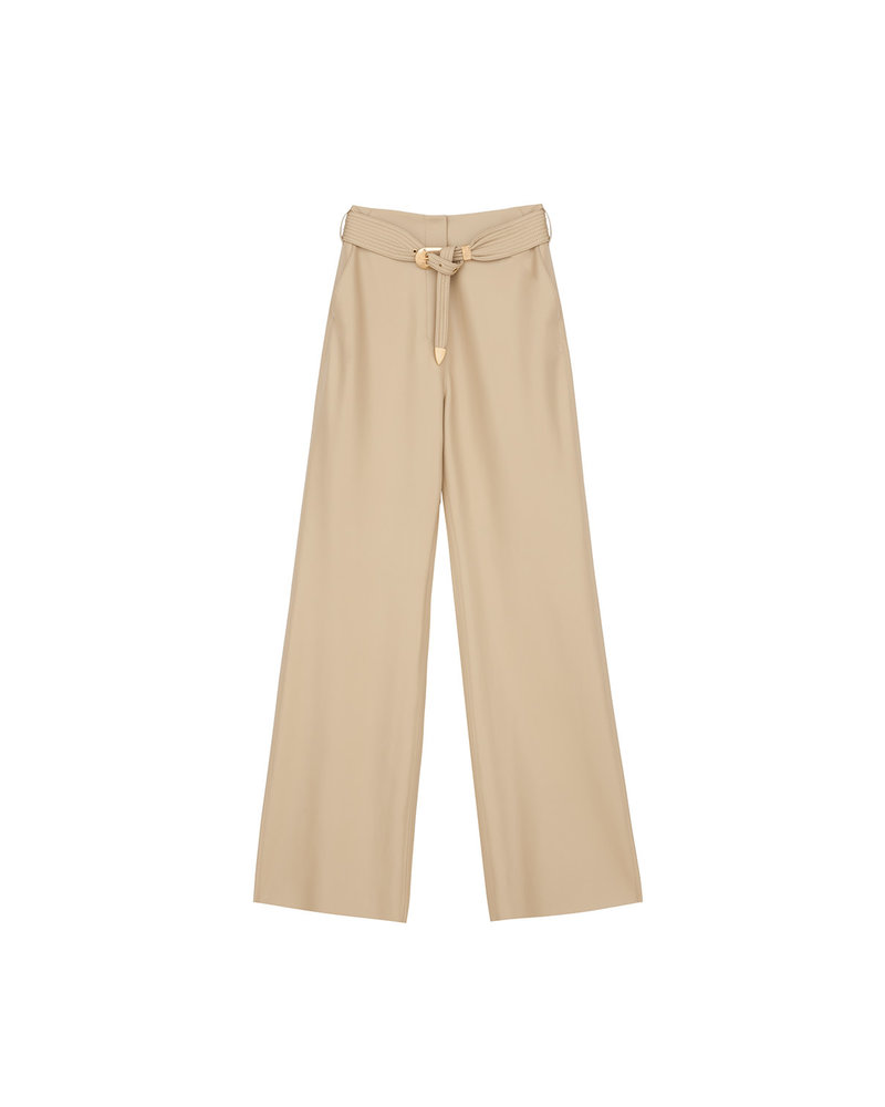 Nanushka Kisa pants - Wax Yellow