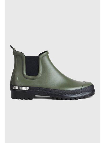 Stutterheim Chelsea rainwalker - Black/Green