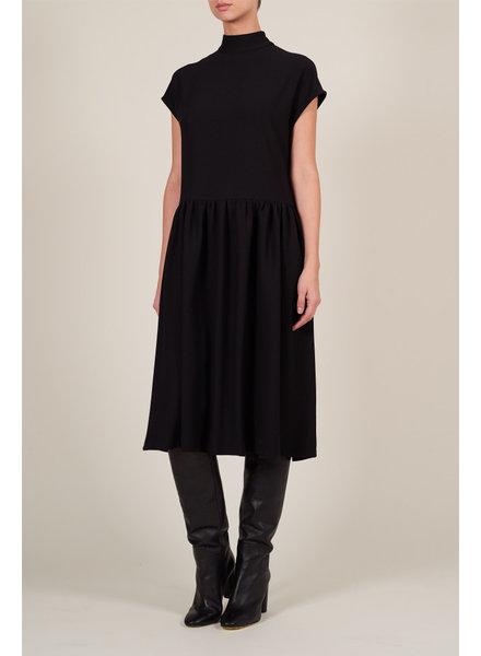 Le Brand Livia Midi Dress - Black