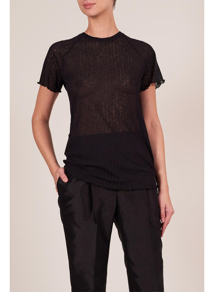 Le Brand Cristina T-shirt - Black