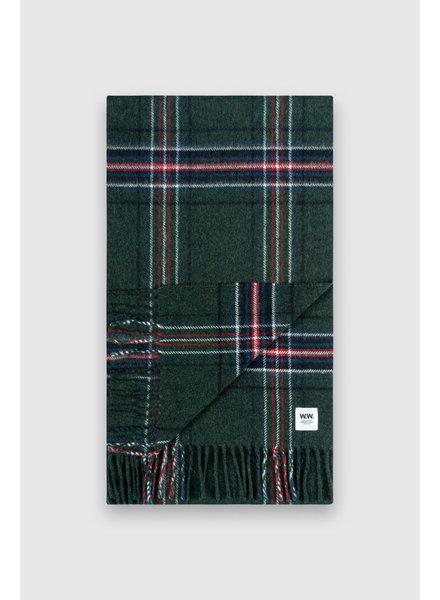 Wood Wood Karlo scarf - Green check