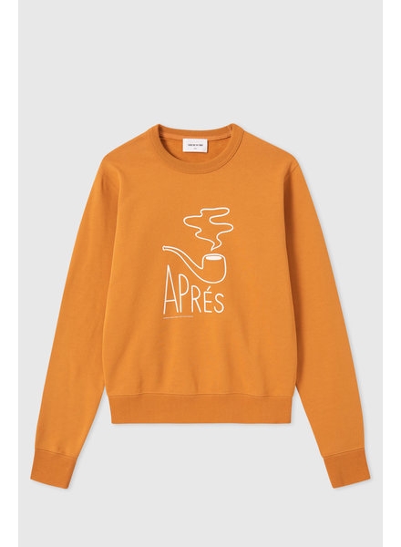 Wood Wood Rose sweatshirt - Mustard