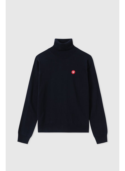 Wood Wood Bea turtleneck - Navy