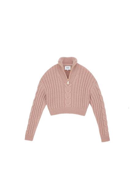 Nanushka Eria knit sweater - Pale Pink