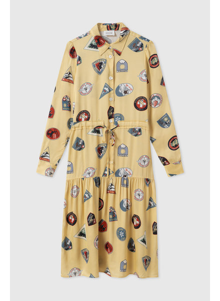 Wood Wood Hilde dress - Yellow