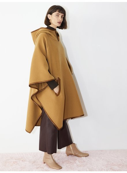 Aeron Florence poncho - Gingerbread
