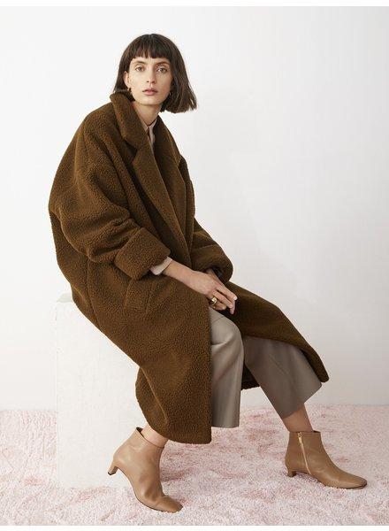 Aeron Gropius coat - Mud