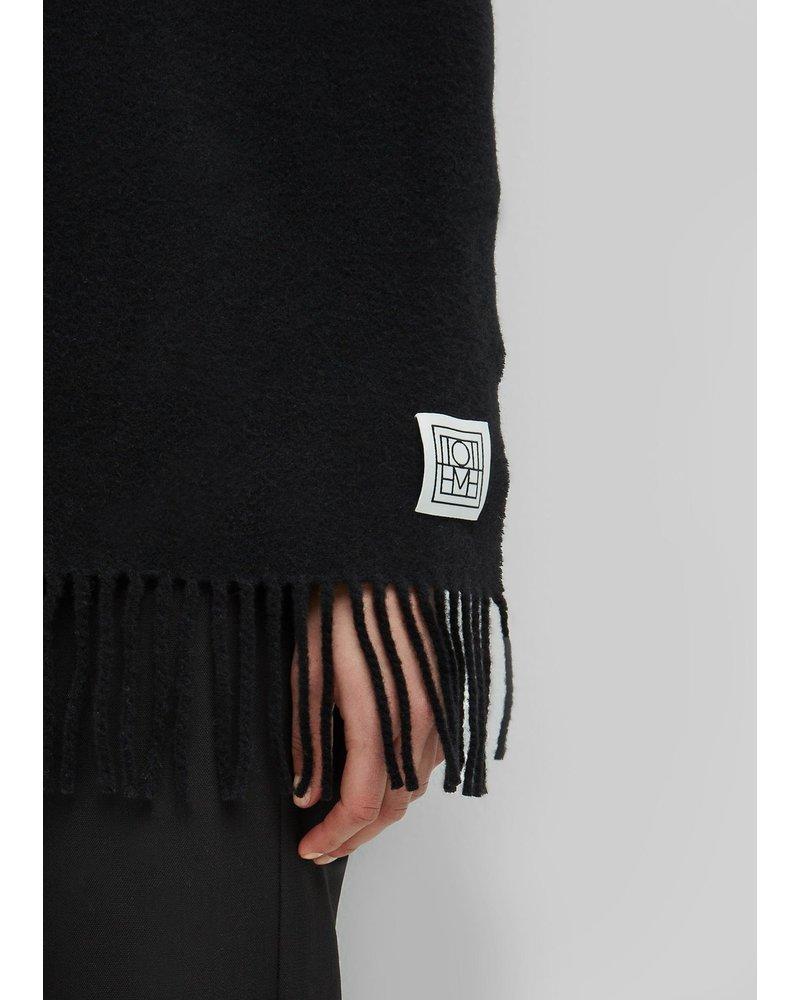 Totême Bova scarf - Black OS