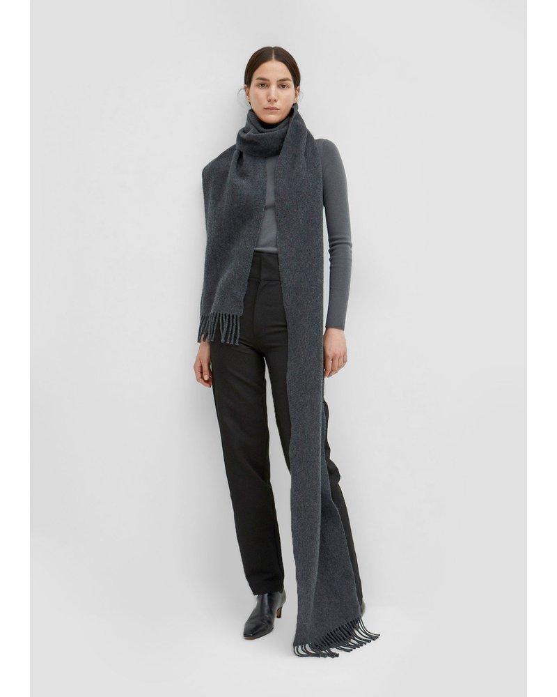 Totême Bova scarf - Dark Grey Melange OS