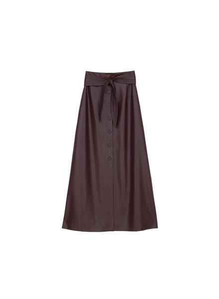 Nanushka Arfen skirt - Aubergine