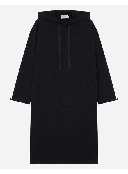 Maison Kitsuné Hoodie dress - Black