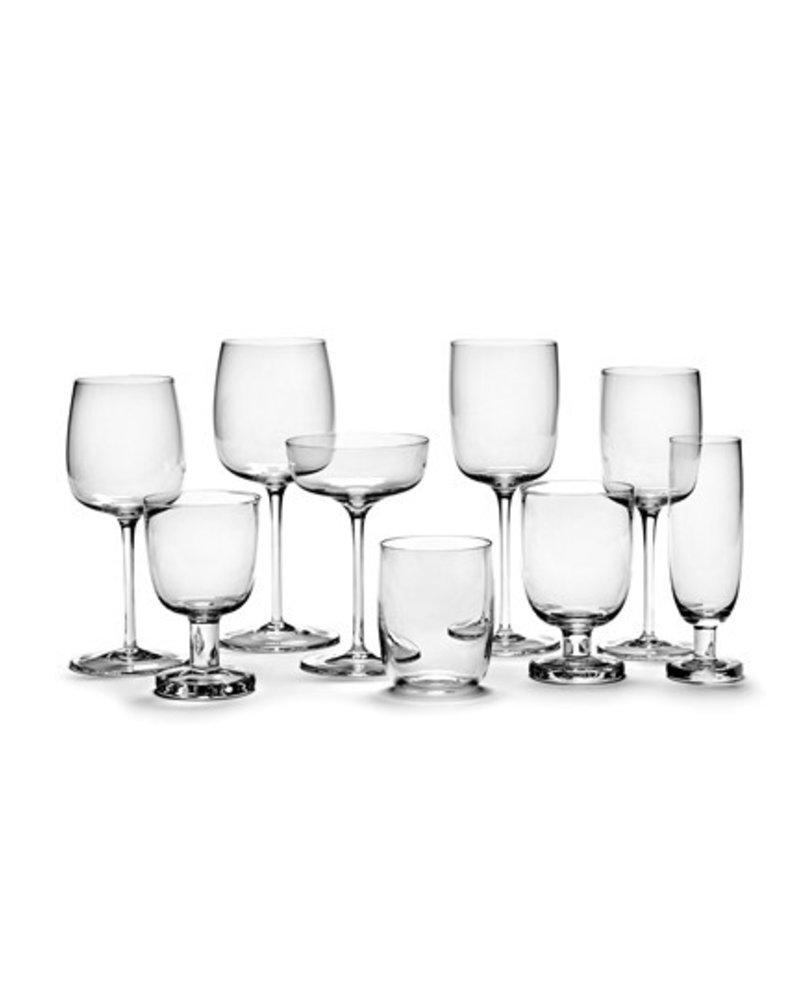 Vincent Van Duysen Rodewijnglas Gebogen H23cm D9,6cm 45CL