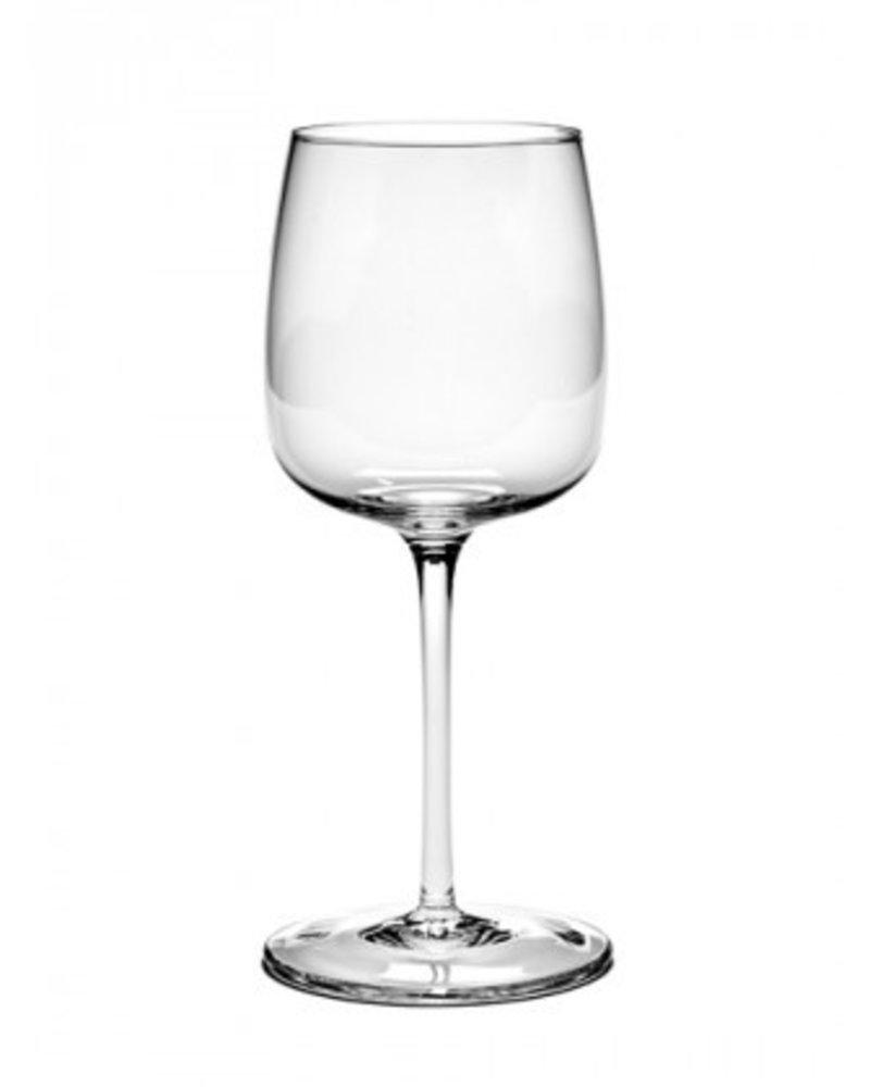Vincent Van Duysen Wittewijnglas Gebogen H21cm D8,8cm 40CL