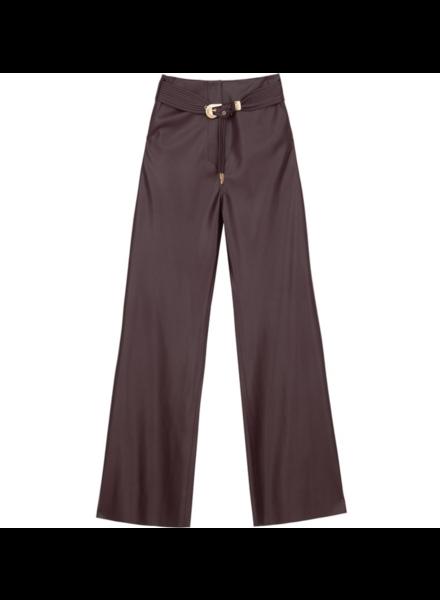 Nanushka Kisa pants - Aubergine