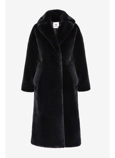 Anine Bing Sasha faux Fur - Black