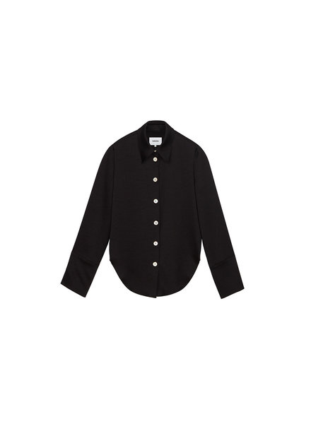 Nanushka Mandine shirt - Black