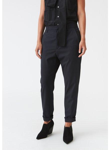 Hope News trousers - Dk Blue Pinstripe - 40