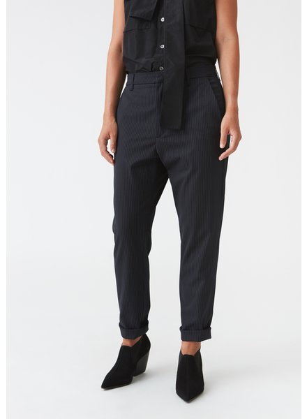 Hope News trousers - Dk Blue Pinstripe