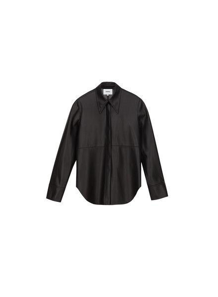 Nanushka Noelle shirt - Black