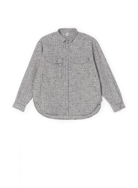 Totême Novella shirt - Black&White - size L