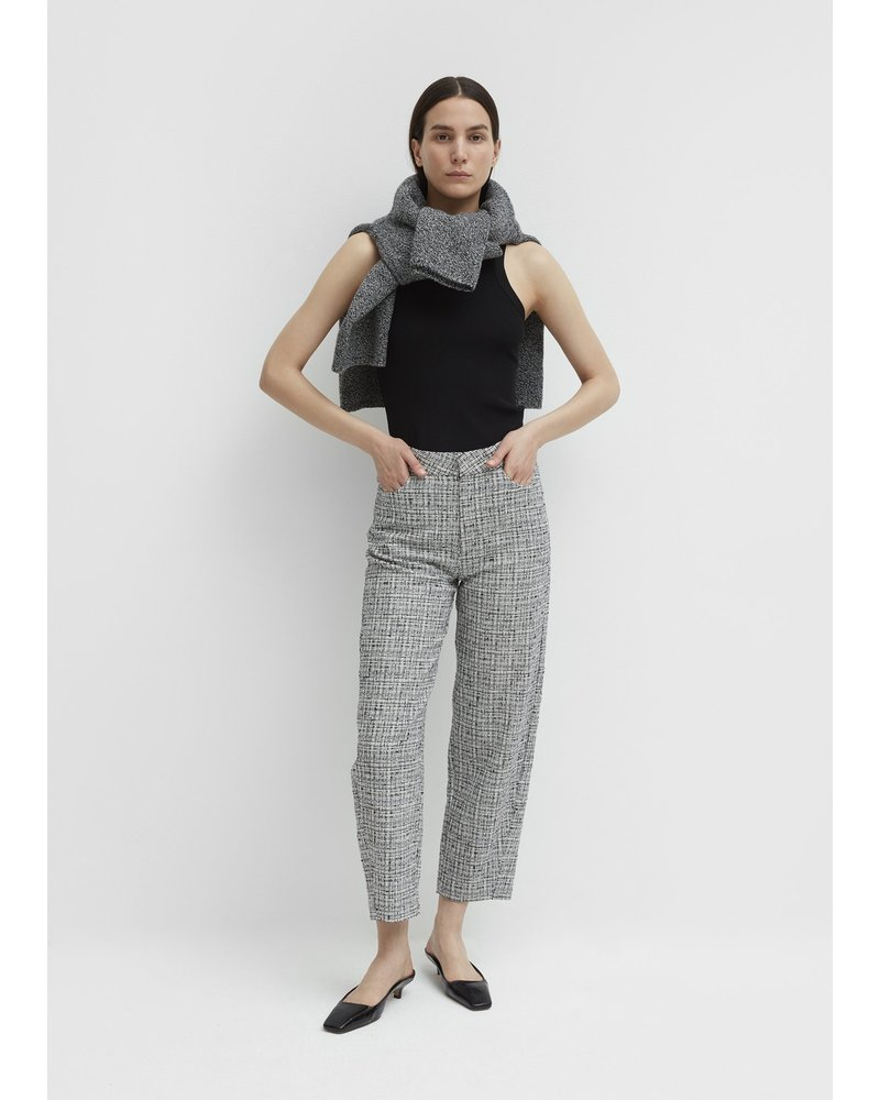 Totême Novara trousers - Black&White