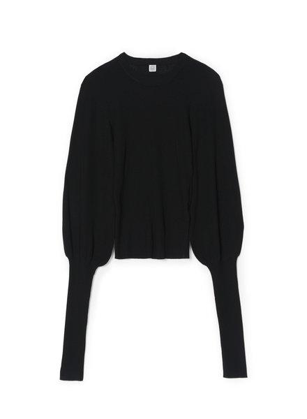 Totême Vignola top - Black - size M