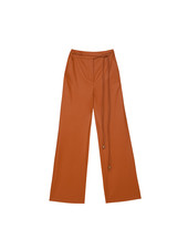 Nanushka Chimo pants - Burnt Orange
