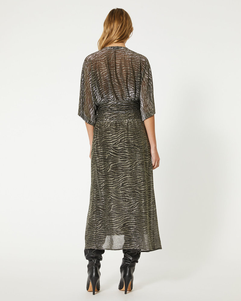 Iro Volsun dress - Dark Grey