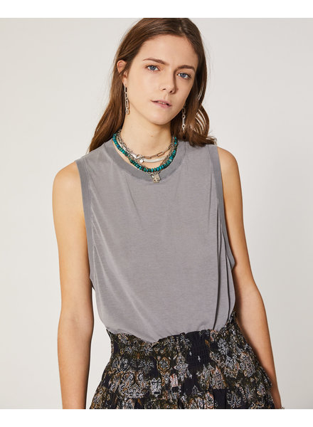 Iro Combes tank - Dark Grey