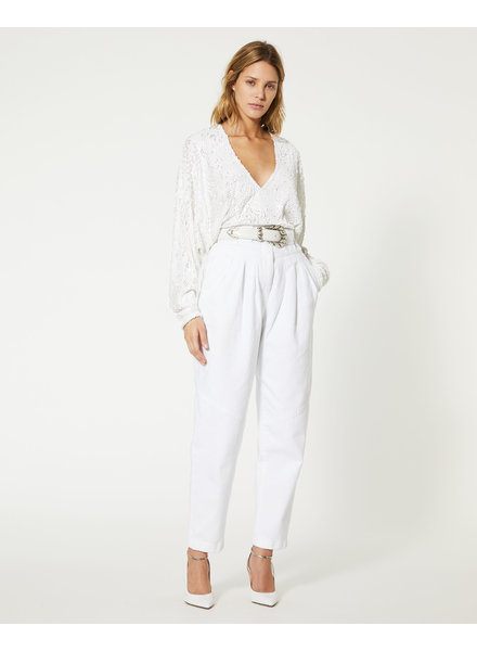 Iro Around top - White