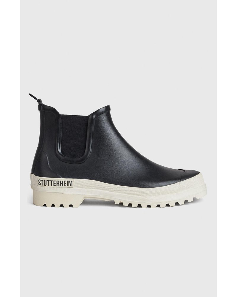 Stutterheim Chelsea rainwalker - Black/White