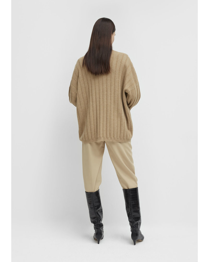 Totême Bonifacio sweater - Mustard Melange