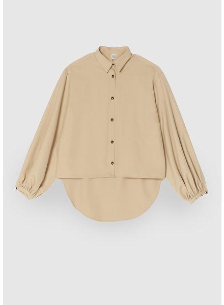 Totême Novale shirt - Beige - size xxs