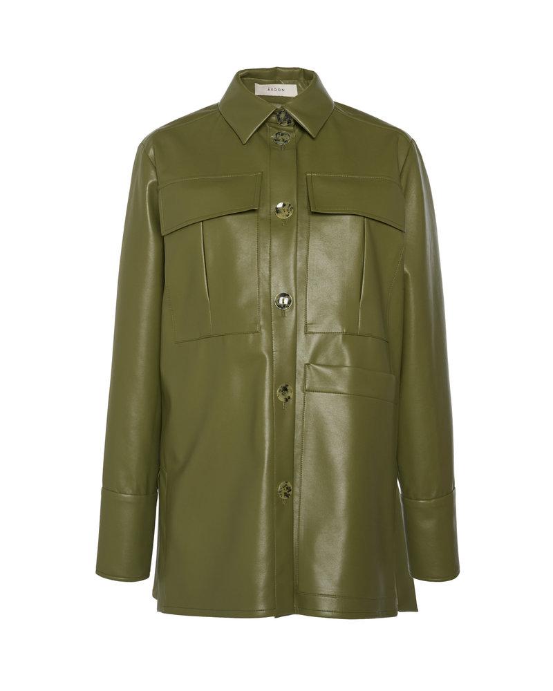 Aeron Blanche shirt - Moss