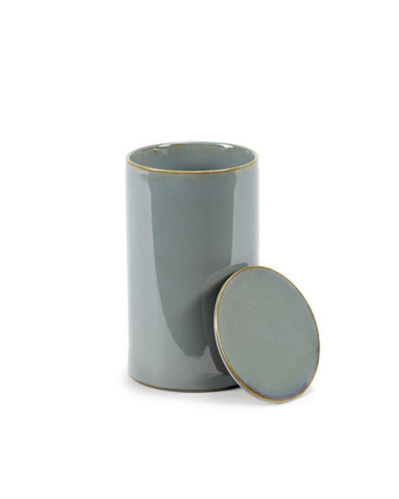 Anita Le Grelle for Serax Opbergpot D7 H12,5 - Smokey Blue