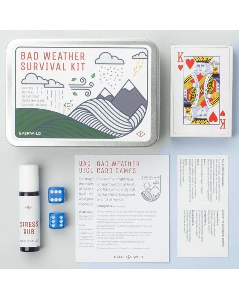 Men's Society Bad Weather survival Kit