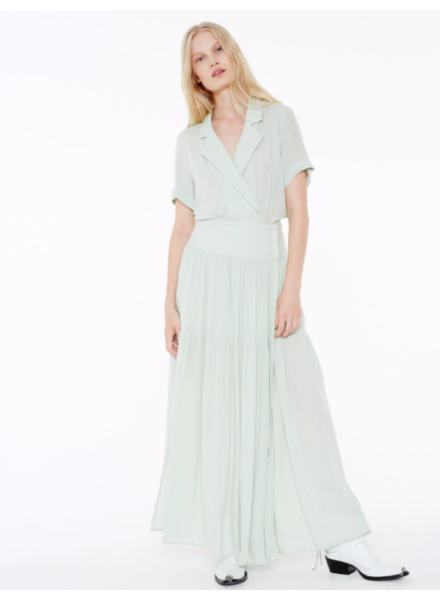 Margaux Lonnberg Gloria Robe - Light Green