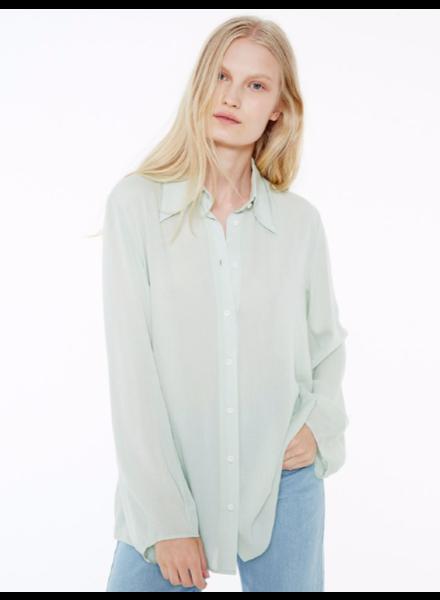 Margaux Lonnberg Hayden chemise - Light Green