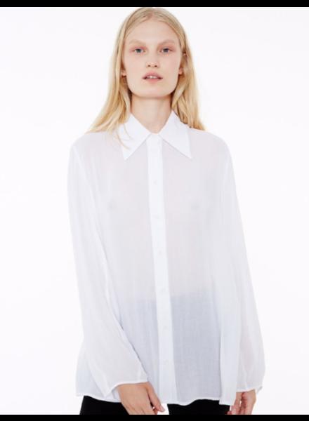 Margaux Lonnberg Hayden chemise - White - size 42