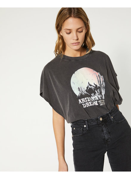 Iro Smoky Tee - Black Stone