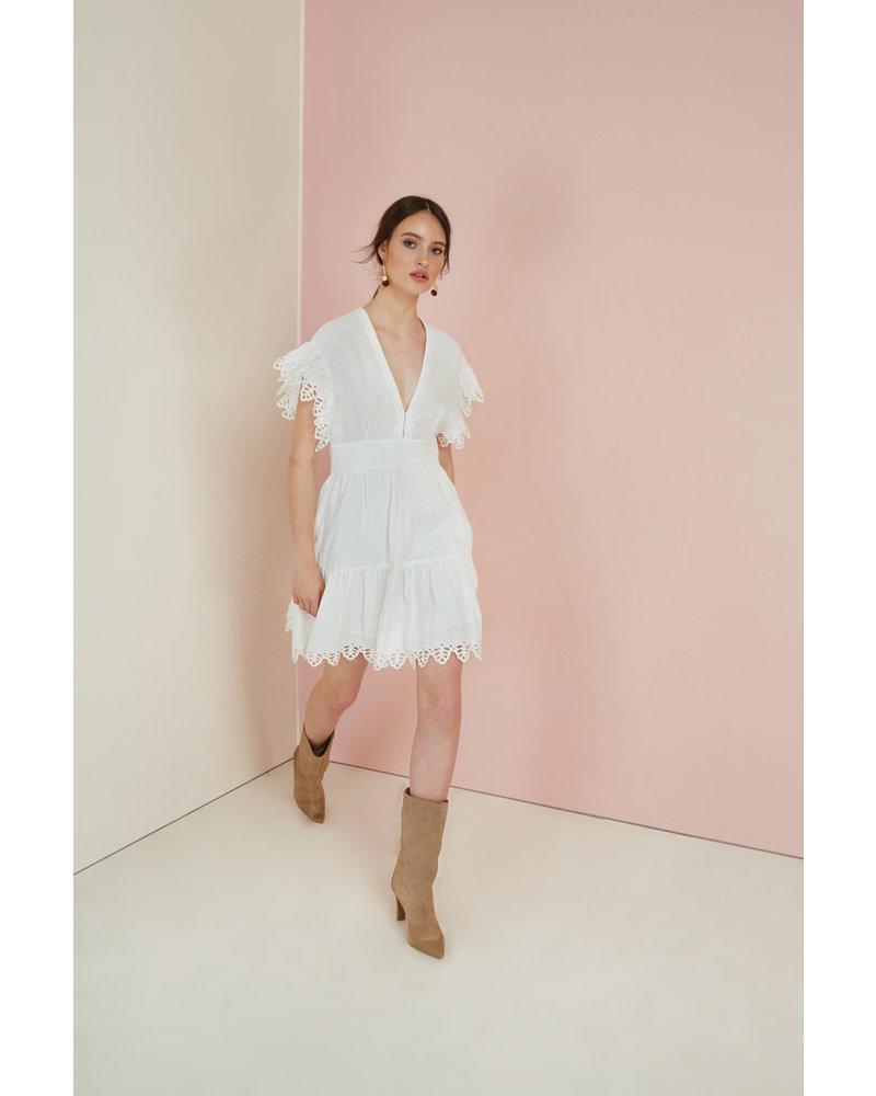 Magali Pascal Maxime dress - Off White