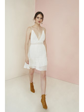Magali Pascal Camille Mini Dress - Off White