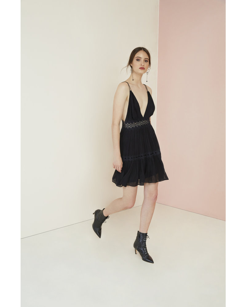 Magali Pascal Camille Mini Dress - Midnight