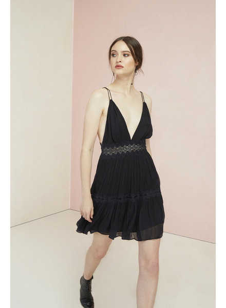 Magali Pascal Camille Mini Dress - Midnight