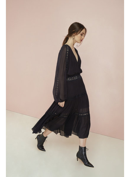 Magali Pascal Camille Maxi Dress - Midnight - size S & L