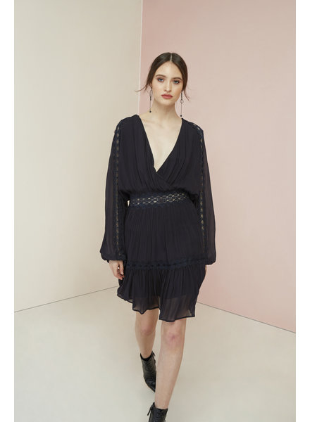 Magali Pascal Camille dress - Midnight