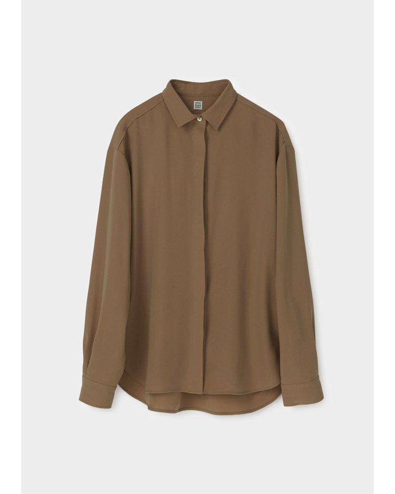 Totême Lago shirt - Khaki