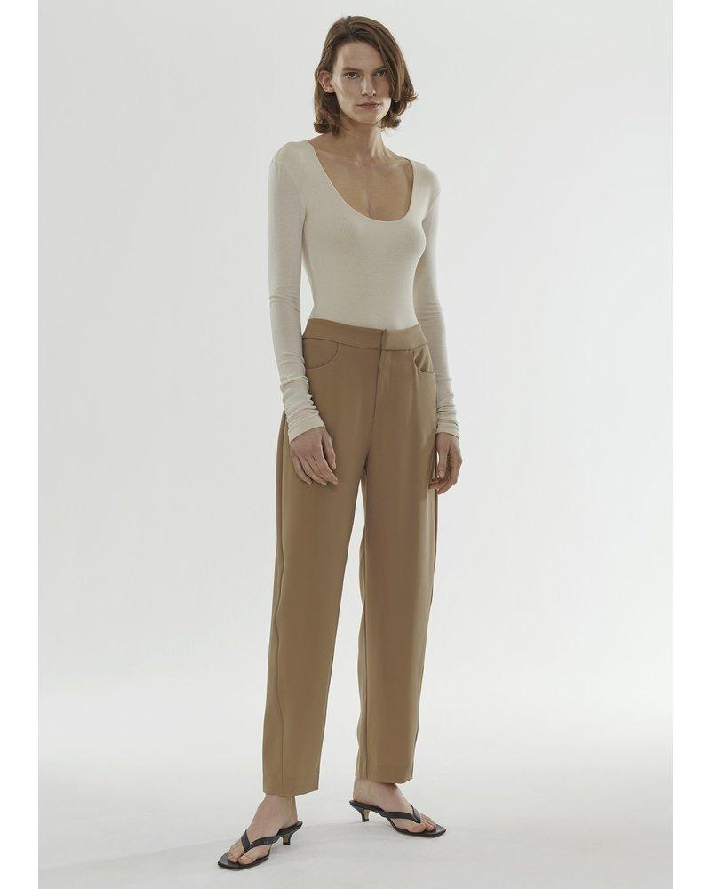 Totême Novara trousers - Khaki