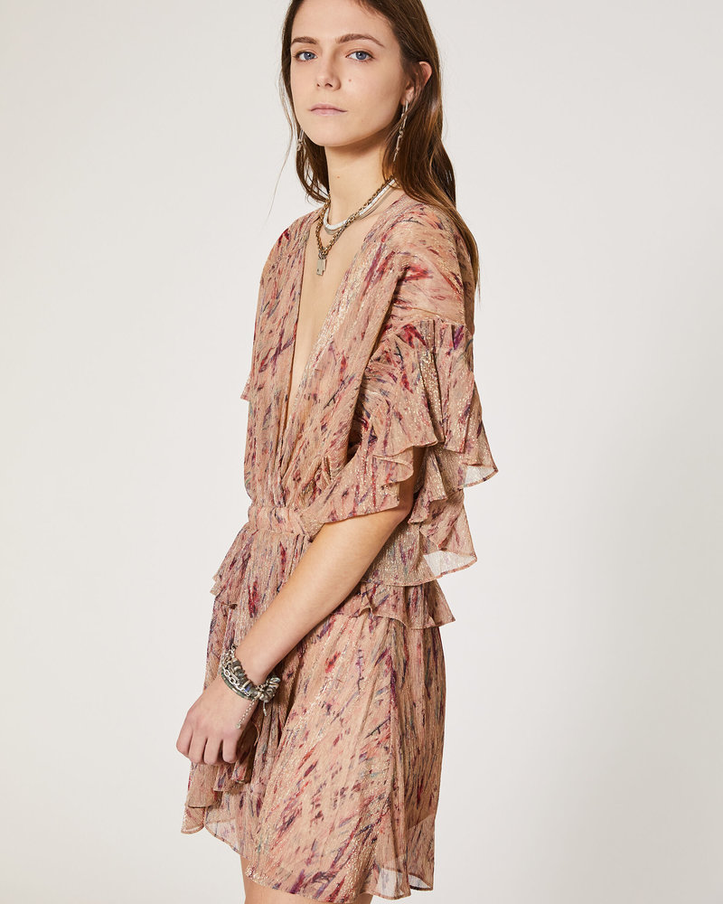 Iro Buoux Dress - Light Pink